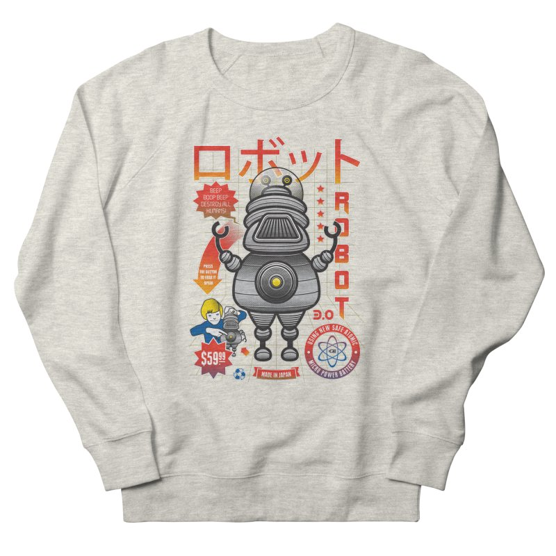 Robot 3.0 Men's Sweatshirt by heavyhand's Artist Shop