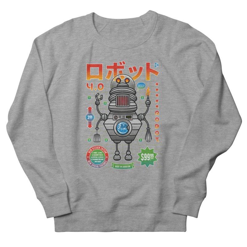 Robot 4.0 - Kitchen Edition Men's Sweatshirt by heavyhand's Artist Shop