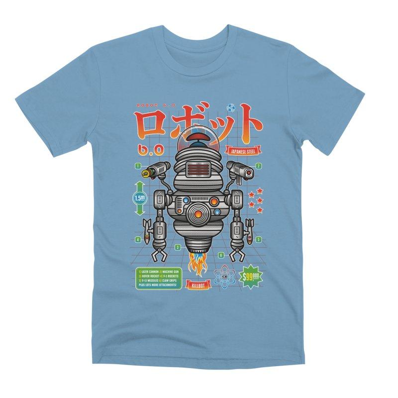 Robot 6.0 - Killbot Edition Men's Premium T-Shirt by heavyhand's Artist Shop