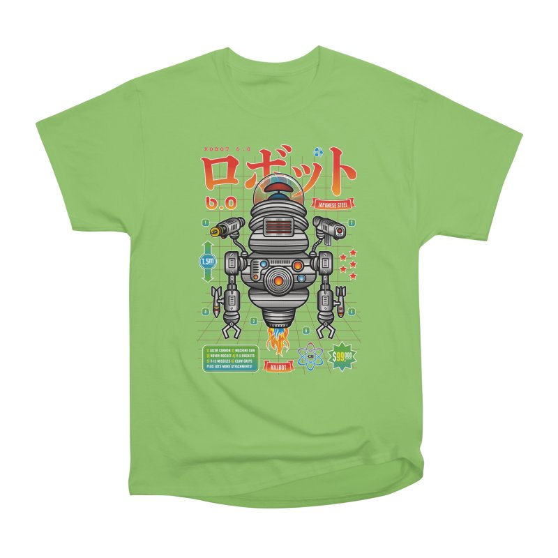 Robot 6.0 - Killbot Edition Women's Heavyweight Unisex T-Shirt by heavyhand's Artist Shop
