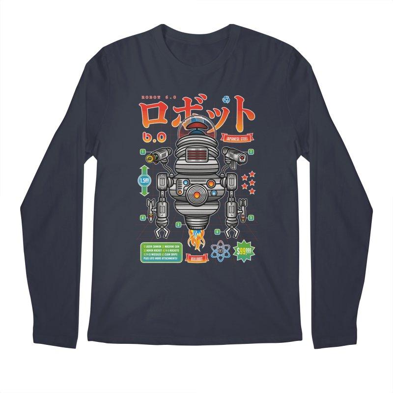 Robot 6.0 - Killbot Edition Men's Regular Longsleeve T-Shirt by heavyhand's Artist Shop
