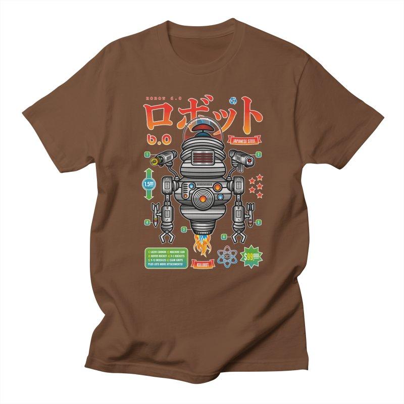 Robot 6.0 - Killbot Edition Men's Regular T-Shirt by heavyhand's Artist Shop
