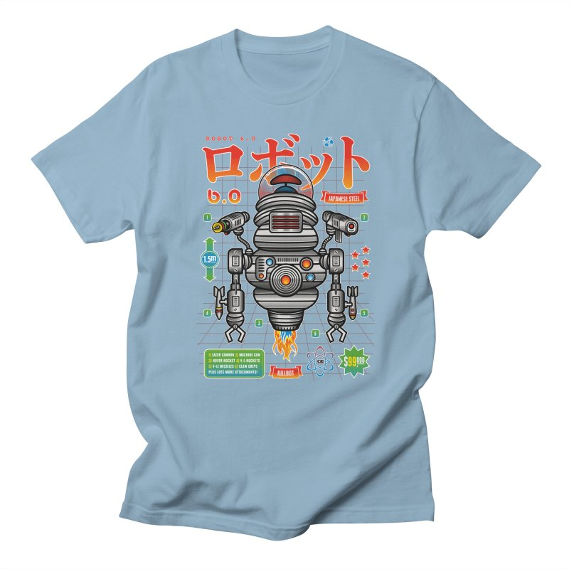 Robot 6.0 - Killbot Edition Men's Regular T-Shirt by heavyhand's Artist Shop