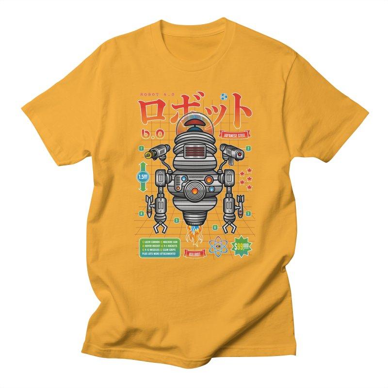 Robot 6.0 - Killbot Edition Men's T-Shirt by heavyhand's Artist Shop