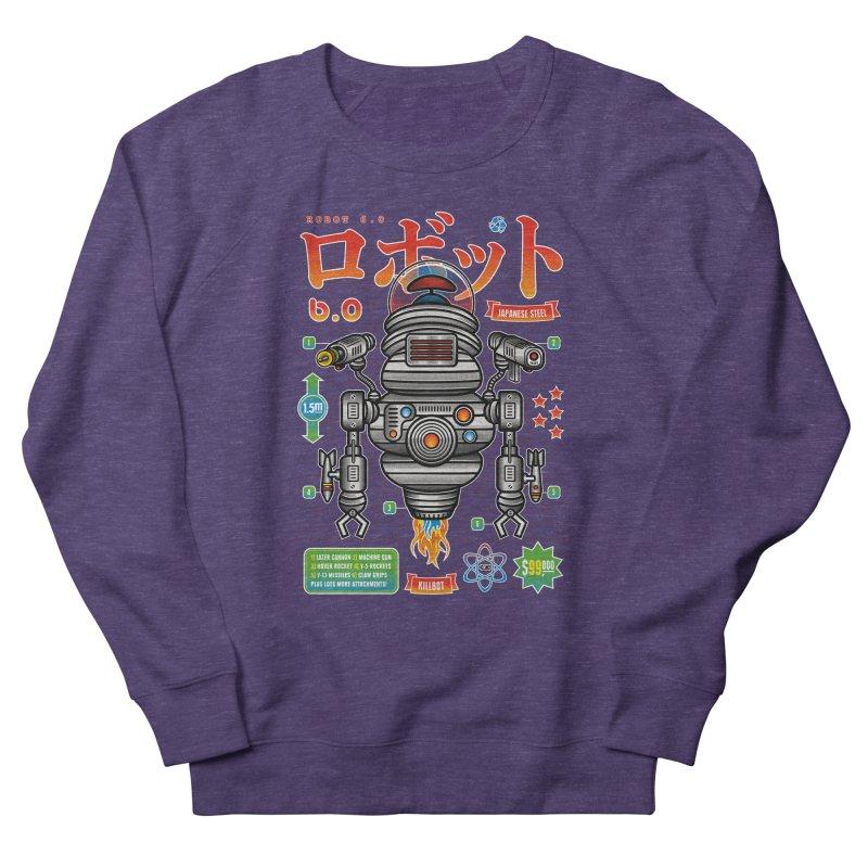 Robot 6.0 - Killbot Edition Women's Sweatshirt by heavyhand's Artist Shop