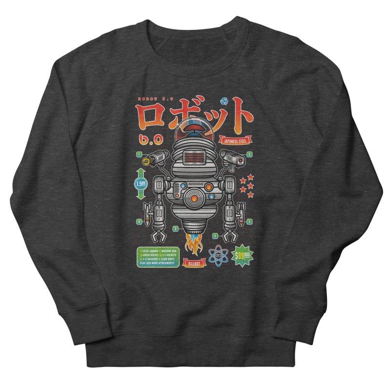 Robot 6.0 - Killbot Edition Men's French Terry Sweatshirt by heavyhand's Artist Shop
