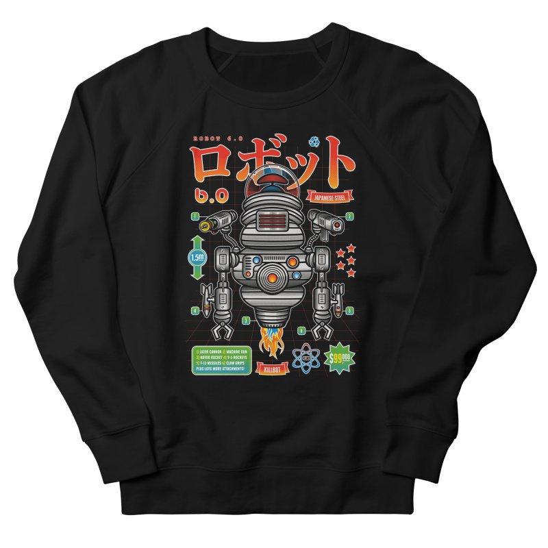 Robot 6.0 - Killbot Edition Men's Sweatshirt by heavyhand's Artist Shop