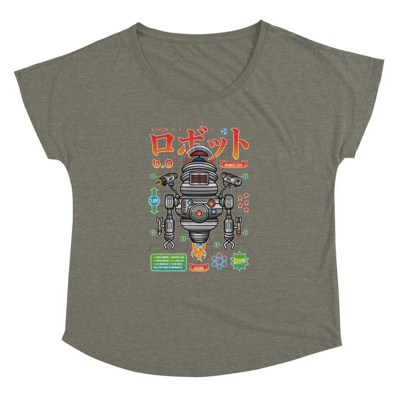 Robot 6.0 - Killbot Edition Women's Dolman by heavyhand's Artist Shop