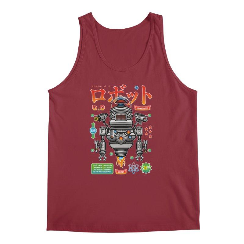 Robot 6.0 - Killbot Edition Men's Regular Tank by heavyhand's Artist Shop