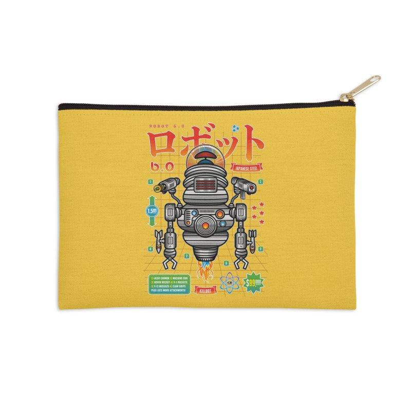 Robot 6.0 - Killbot Edition Accessories Zip Pouch by heavyhand's Artist Shop