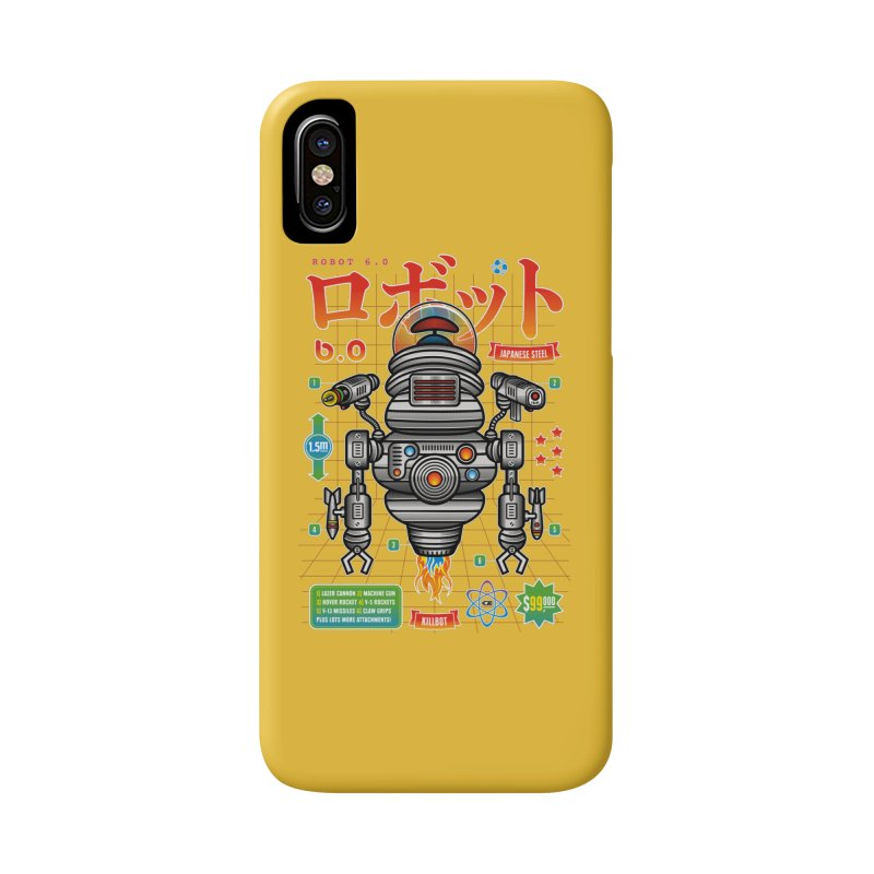 Robot 6.0 - Killbot Edition Accessories Phone Case by heavyhand's Artist Shop