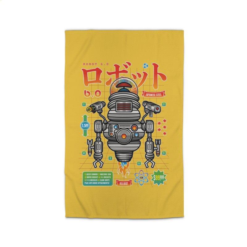 Robot 6.0 - Killbot Edition Home Rug by heavyhand's Artist Shop