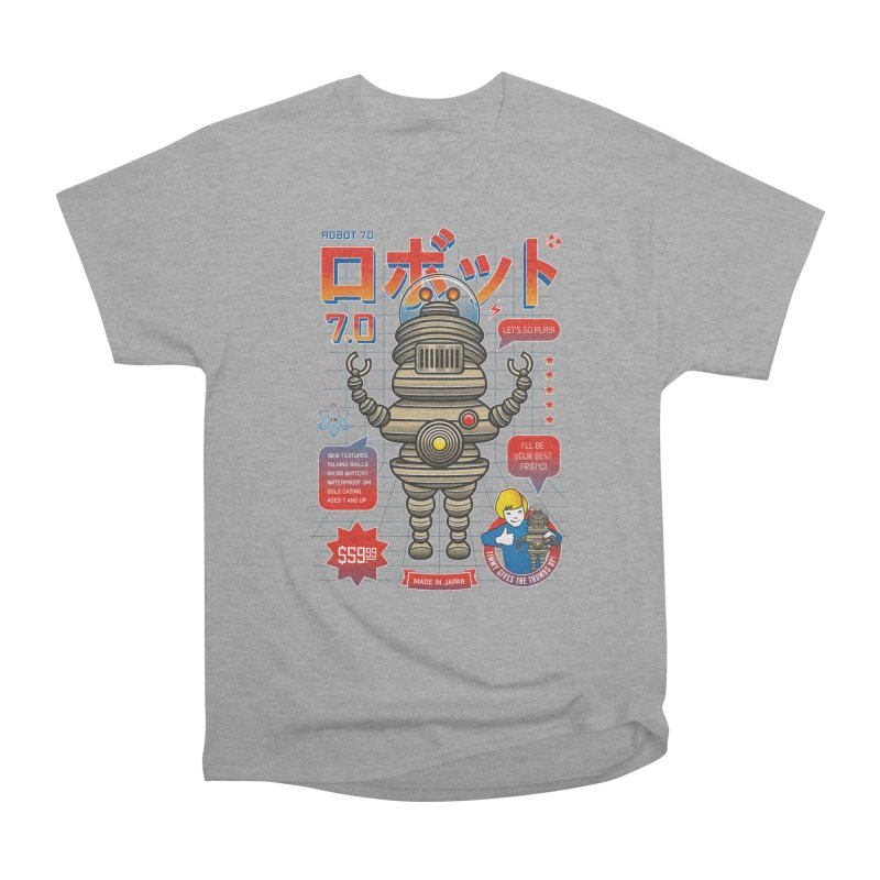 Robot 7.0 - Classic Edition Women's Heavyweight Unisex T-Shirt by heavyhand's Artist Shop