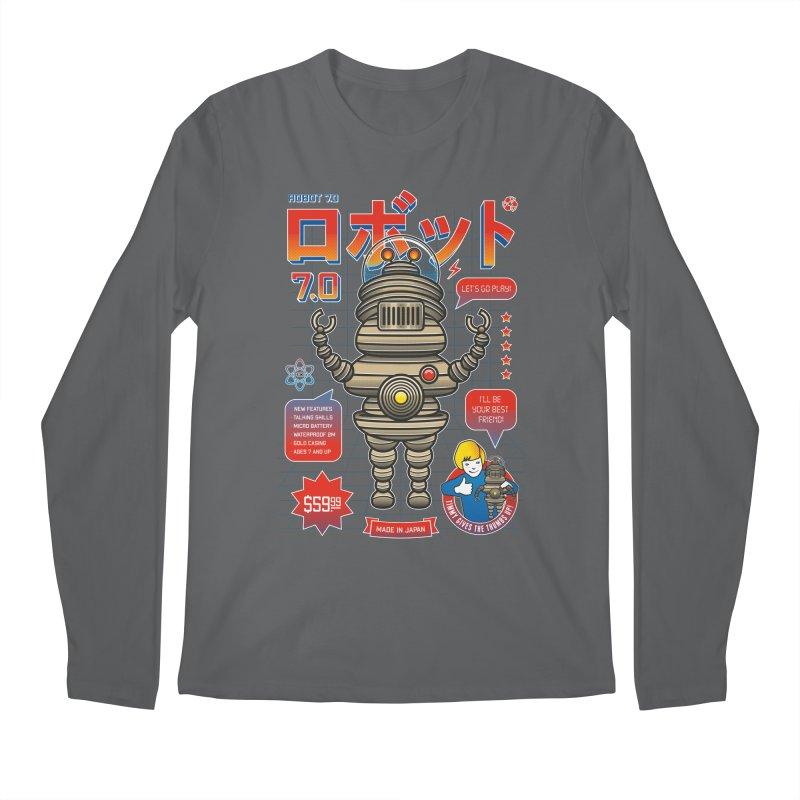Robot 7.0 - Classic Edition Men's Regular Longsleeve T-Shirt by heavyhand's Artist Shop