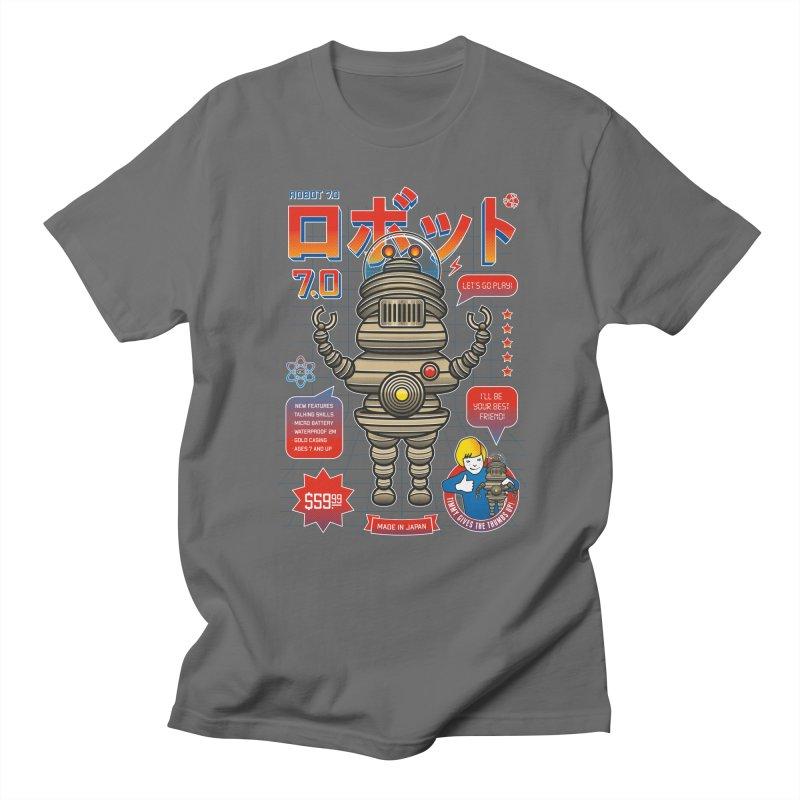 Robot 7.0 - Classic Edition Men's T-Shirt by heavyhand's Artist Shop