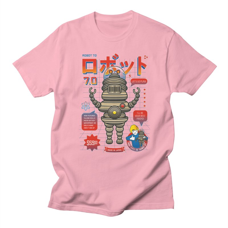 Robot 7.0 - Classic Edition Men's Regular T-Shirt by heavyhand's Artist Shop