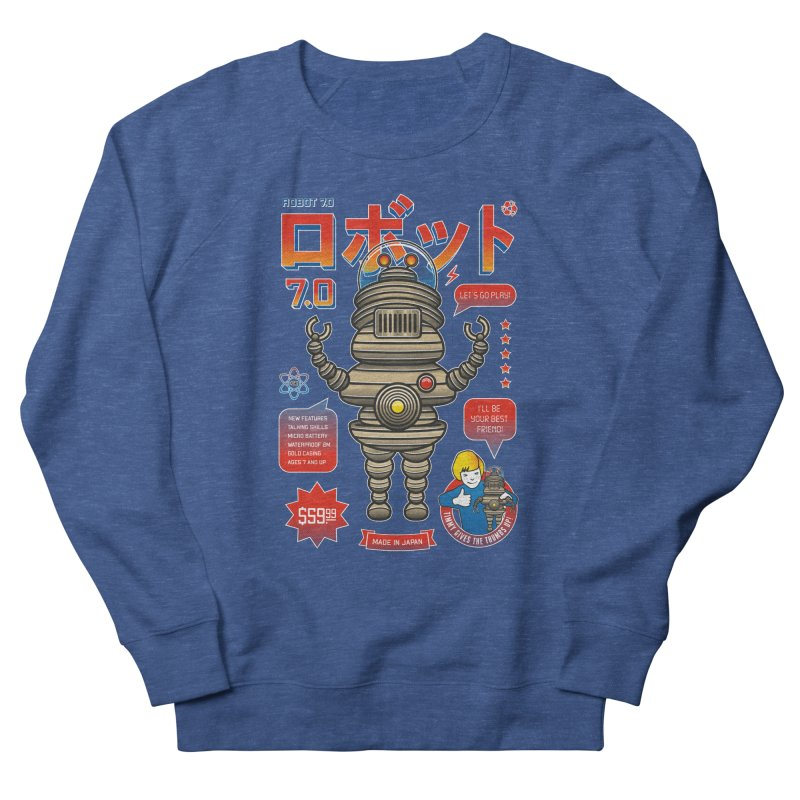 Robot 7.0 - Classic Edition Women's French Terry Sweatshirt by heavyhand's Artist Shop