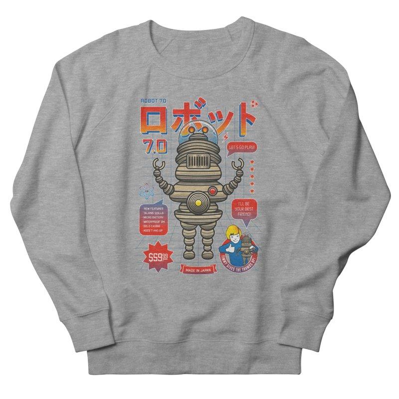 Robot 7.0 - Classic Edition Men's Sweatshirt by heavyhand's Artist Shop