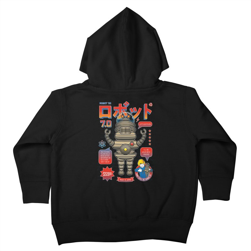 Robot 7.0 - Classic Edition Kids Toddler Zip-Up Hoody by heavyhand's Artist Shop