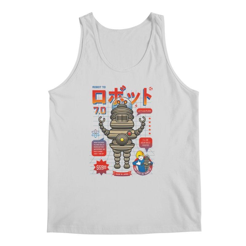 Robot 7.0 - Classic Edition Men's Regular Tank by heavyhand's Artist Shop