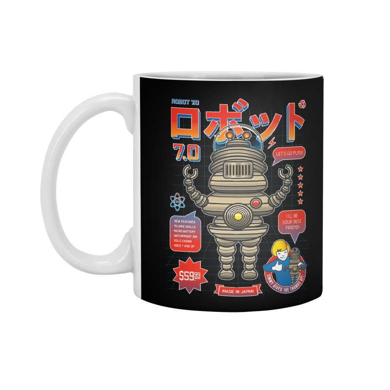 Robot 7.0 - Classic Edition Accessories Mug by heavyhand's Artist Shop