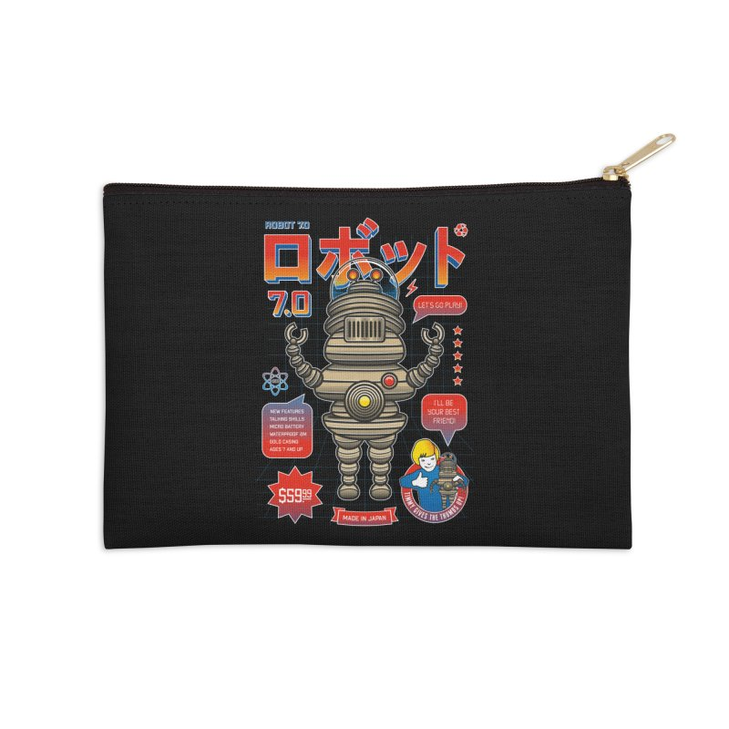 Robot 7.0 - Classic Edition Accessories Zip Pouch by heavyhand's Artist Shop