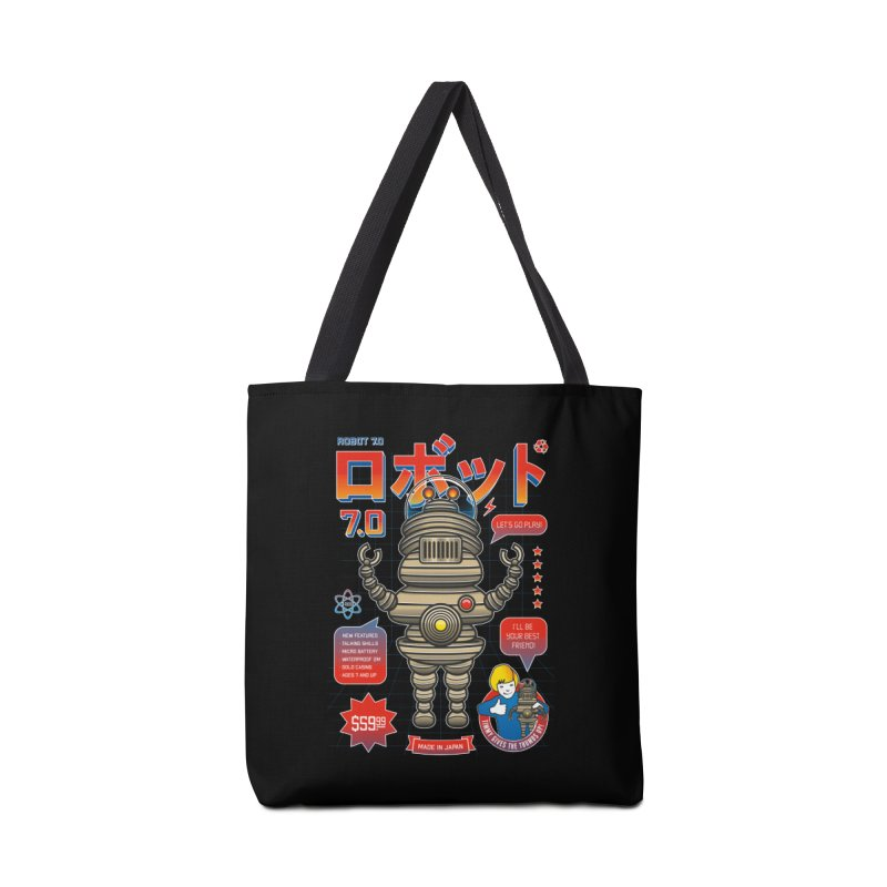 Robot 7.0 - Classic Edition Accessories Tote Bag Bag by heavyhand's Artist Shop