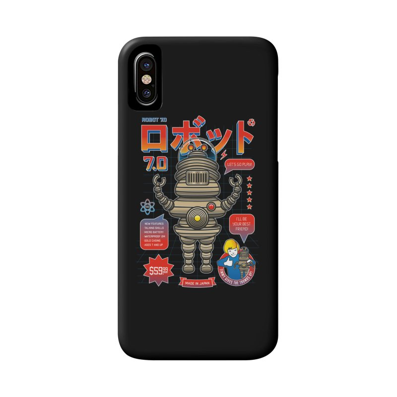 Robot 7.0 - Classic Edition Accessories Phone Case by heavyhand's Artist Shop