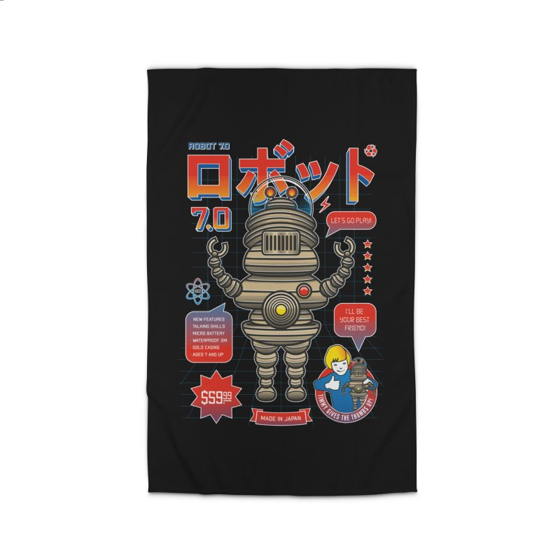 Robot 7.0 - Classic Edition Home Rug by heavyhand's Artist Shop