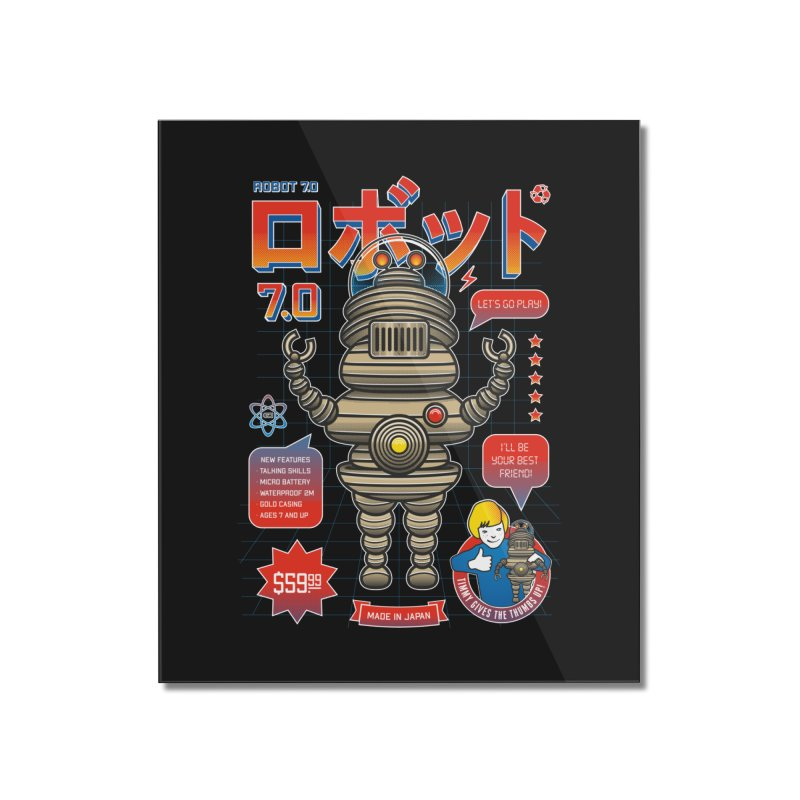 Robot 7.0 - Classic Edition Home Mounted Acrylic Print by heavyhand's Artist Shop