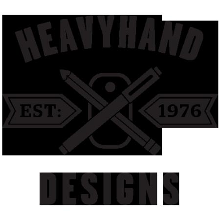 Logo for heavyhand's Artist Shop