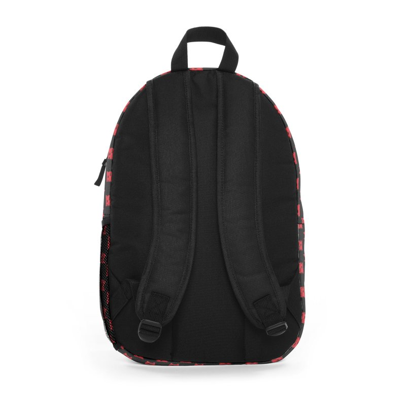 Heavy Metal Red Logo Accessories Bag by Heavy Metal Magazine