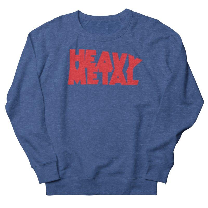 Heavy Metal Red Logo Women's Sweatshirt by Heavy Metal Magazine
