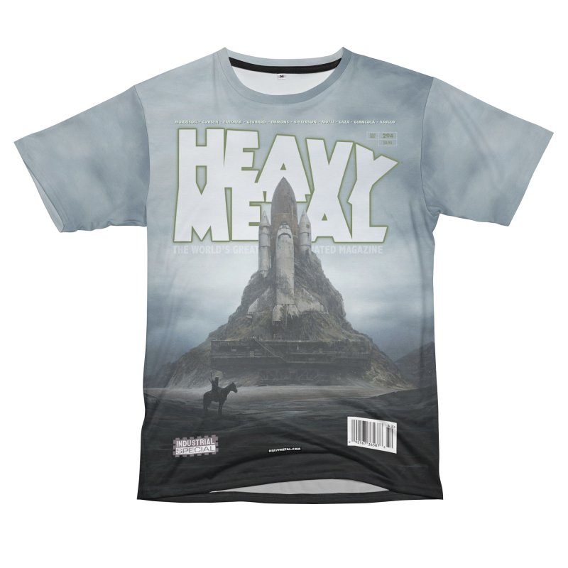 HEAVY METAL 294 Women's Unisex T-Shirt Cut & Sew by Heavy Metal Magazine