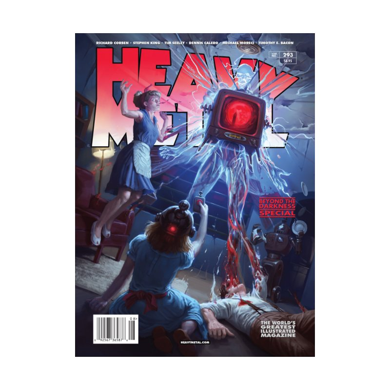 HEAVY METAL 293 Men's Cut & Sew by Heavy Metal Magazine