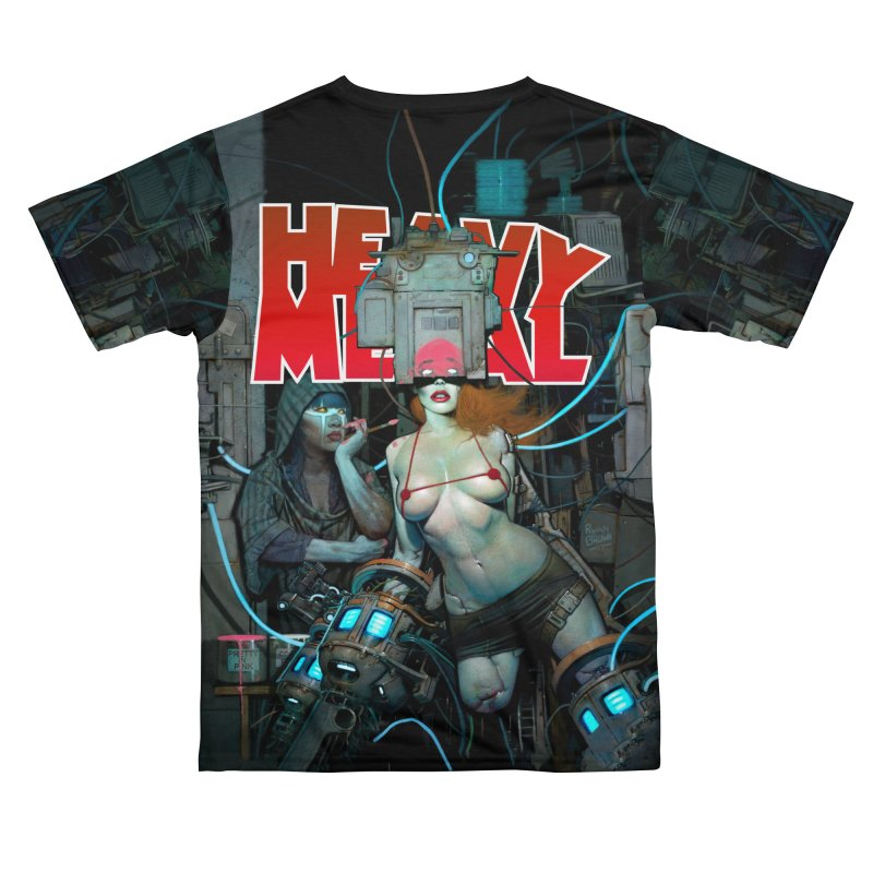 HEAVY METAL 289 Women's Cut & Sew by Heavy Metal Magazine