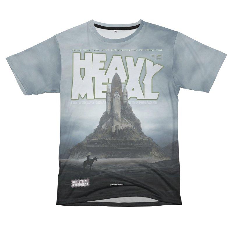 HEAVY METAL 294 V2 Men's T-Shirt Cut & Sew by Heavy Metal Magazine