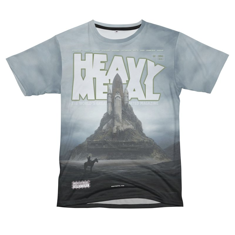 HEAVY METAL 294 V2 Women's Unisex T-Shirt Cut & Sew by Heavy Metal Magazine