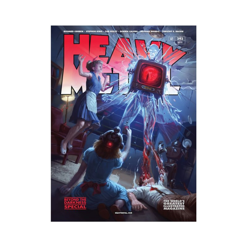 HEAVY METAL 293 V2 Women's Cut & Sew by Heavy Metal Magazine