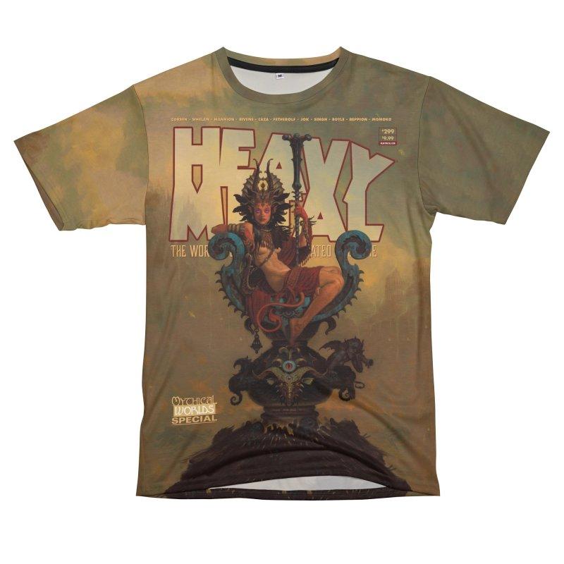 HEAVY METAL 275 V2 Men's T-Shirt Cut & Sew by Heavy Metal Magazine