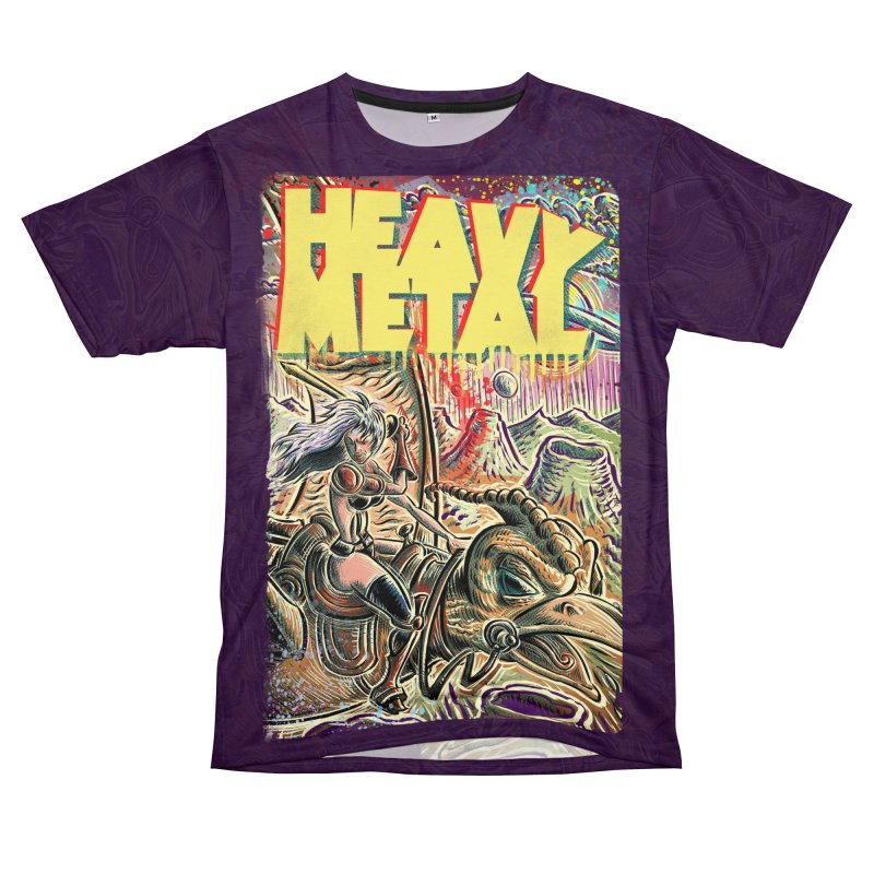 Joe Badon Women's Unisex T-Shirt Cut & Sew by Heavy Metal Magazine
