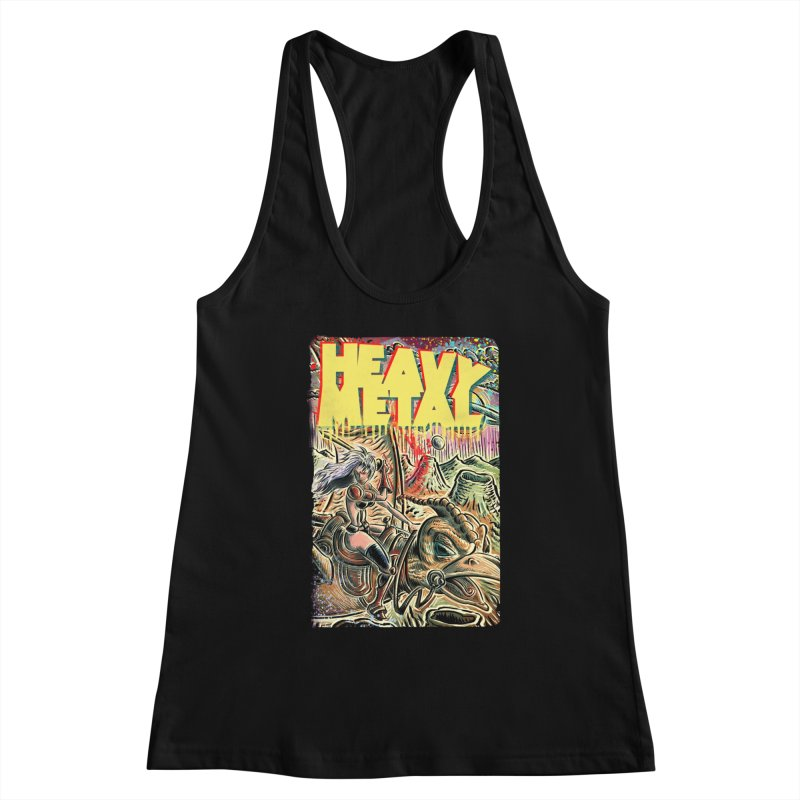 Joe Badon Women's Tank by Heavy Metal Magazine