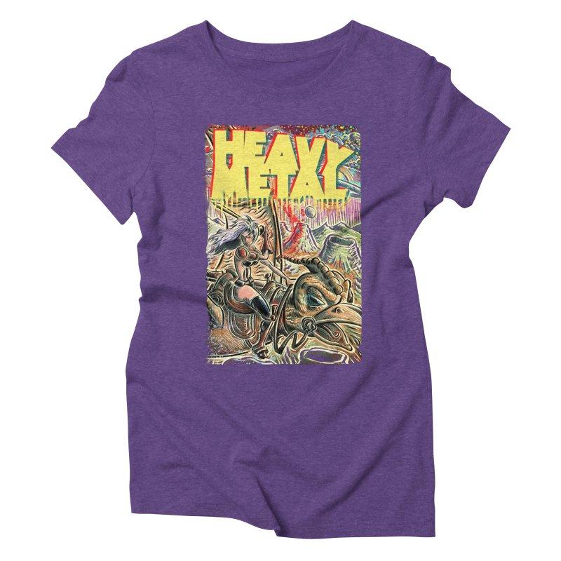 Joe Badon Women's Triblend T-Shirt by Heavy Metal Magazine
