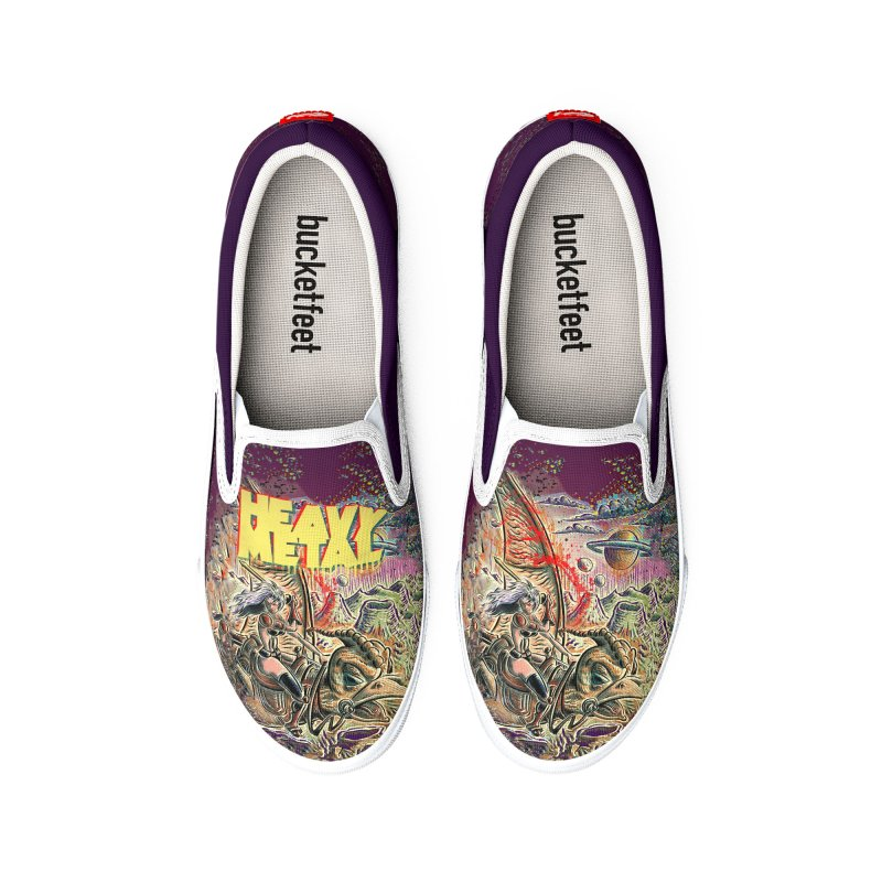 Joe Badon Men's Shoes by Heavy Metal Magazine