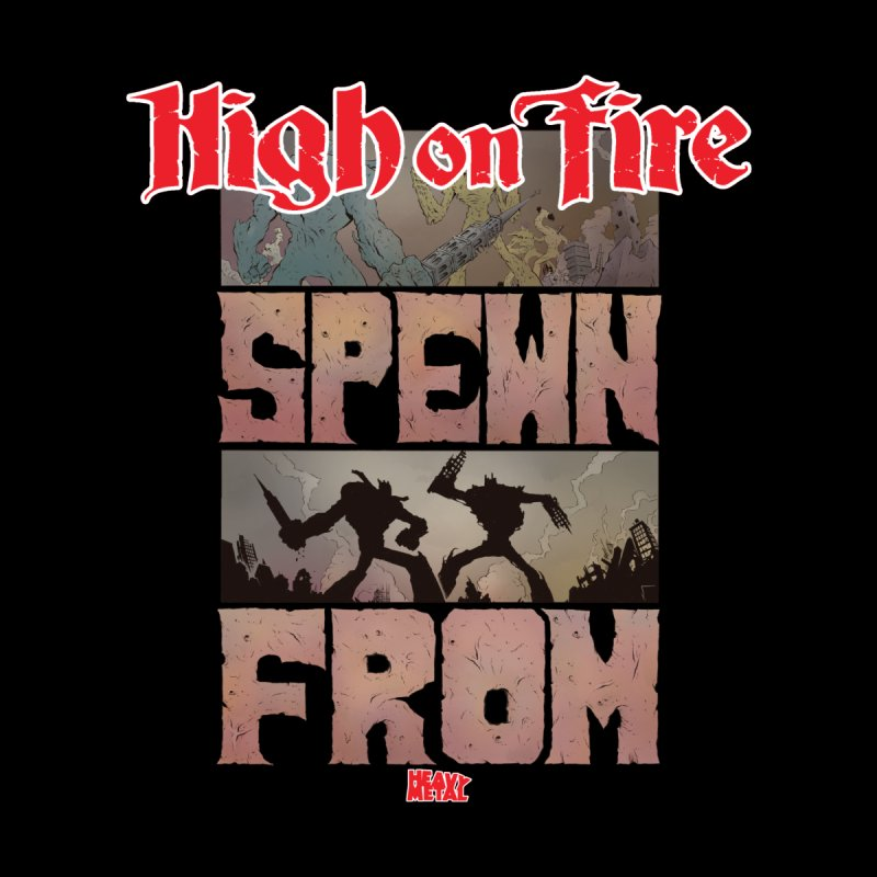 HIGH ON FIRE Heavy Metal 295 64 Men's T-Shirt by Heavy Metal Magazine
