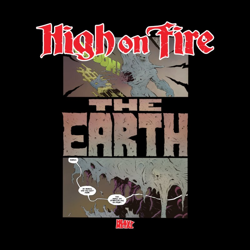 HIGH ON FIRE Heavy Metal 295 65 Men's T-Shirt by Heavy Metal Magazine