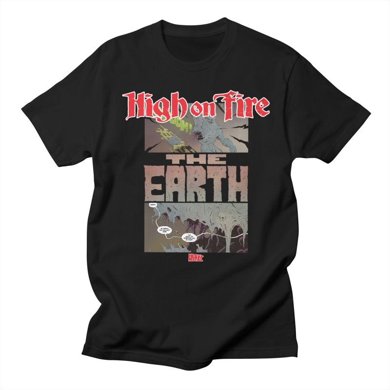 HIGH ON FIRE Heavy Metal 295 65 Men's Regular T-Shirt by Heavy Metal Magazine