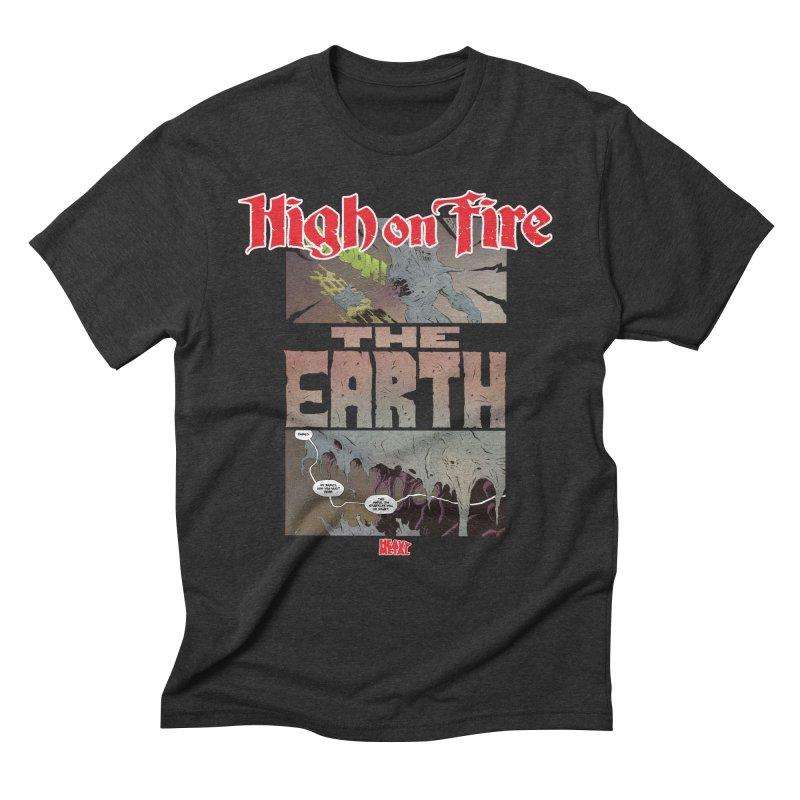 HIGH ON FIRE Heavy Metal 295 65 Men's T-Shirt by Heavy Metal Magazine