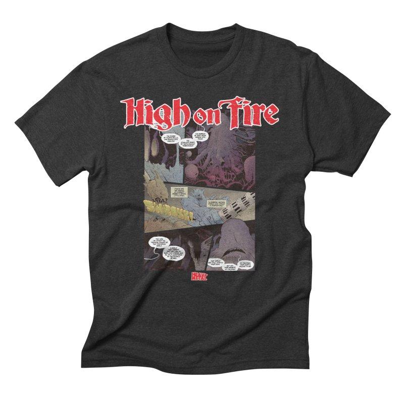 HIGH ON FIRE Heavy Metal 295 66 Men's T-Shirt by Heavy Metal Magazine