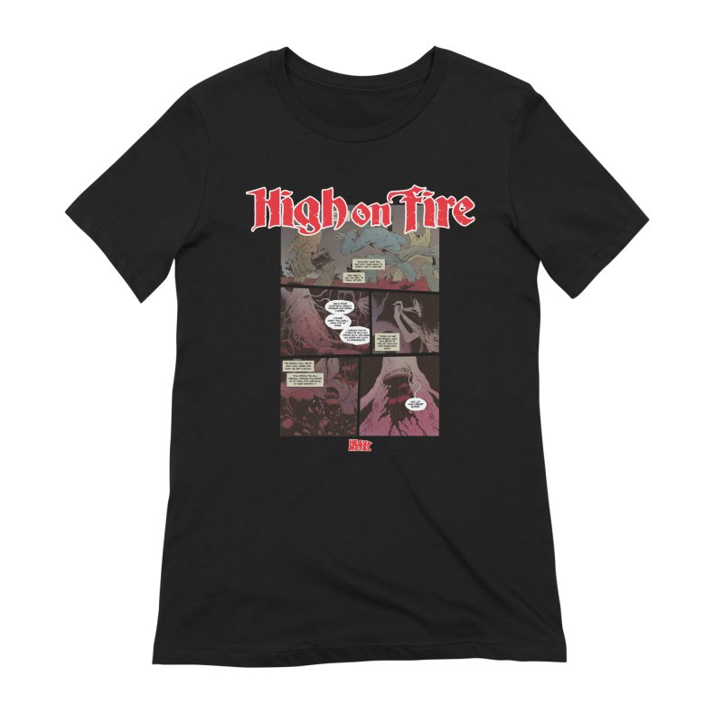 HIGH ON FIRE Heavy Metal 295 69 Women's Extra Soft T-Shirt by Heavy Metal Magazine